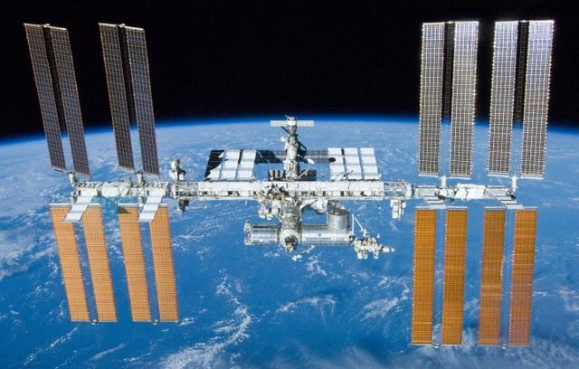 Trạm Vũ trụ Quốc tế (ISS).