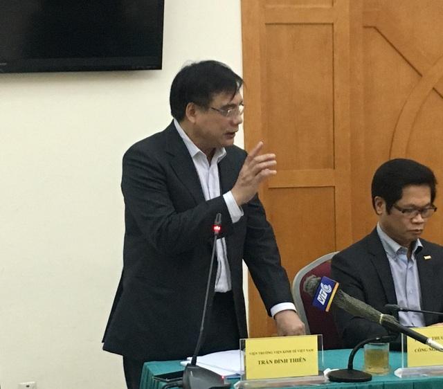 Ông Trần Đình Thiên - Viện trưởng Viện kinh tế Việt Nam