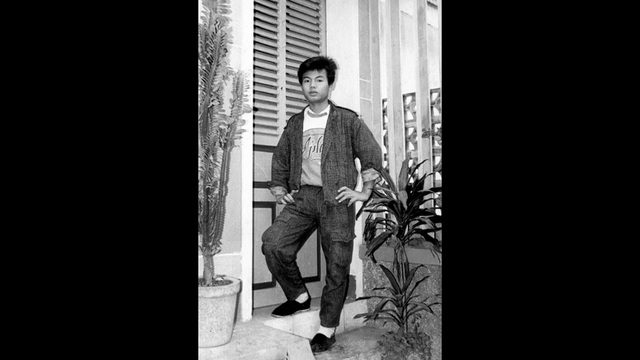 Nhạc sỹ Trần Lập thời niên thiếu. Ảnh: VH.