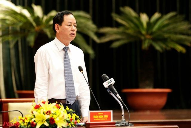 Cục trưởng Cục Thuế TPHCM Trần Ngọc Tâm