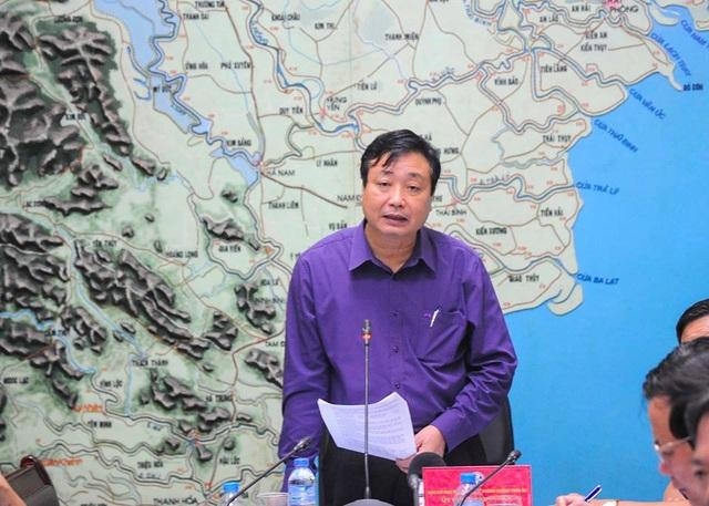 Ông Trần Quang Hoài: Để xảy ra thiệt hại về người do áp thấp nhiệt đới là lỗi của chúng ta.