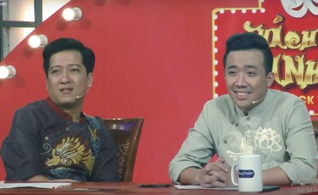 Trái với Trấn Thành, cả 5 vòng thi của Tấn Lợi, giám khảo Trường Giang chưa hề nở một nụ cười nào.