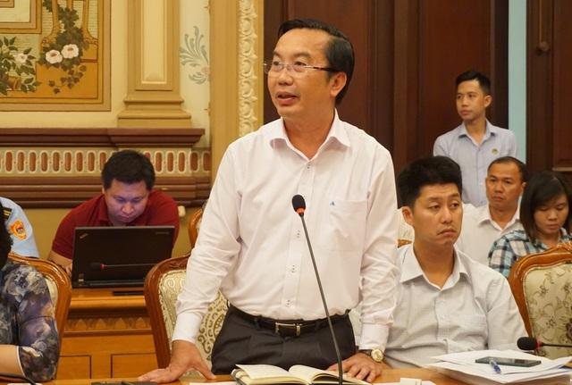 Chủ tịch UBND Quận 1 Trần Thế Thuận