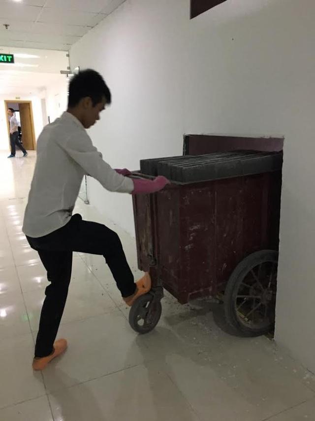 Vận chuyển vật liệu