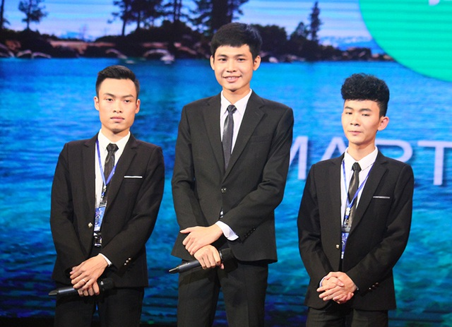 Ba sinh viên khởi nghiệp đến từ Thái Nguyên
