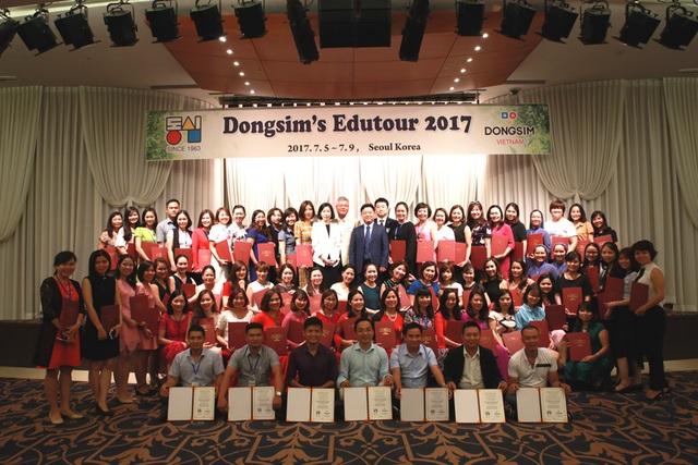 2017 Dongsim's Edutour là cơ hội để những người làm giáo dục Việt nam tiếp cận với các mô hình và phương pháp giáo dục mầm non tiên tiến nhất hiện nay.