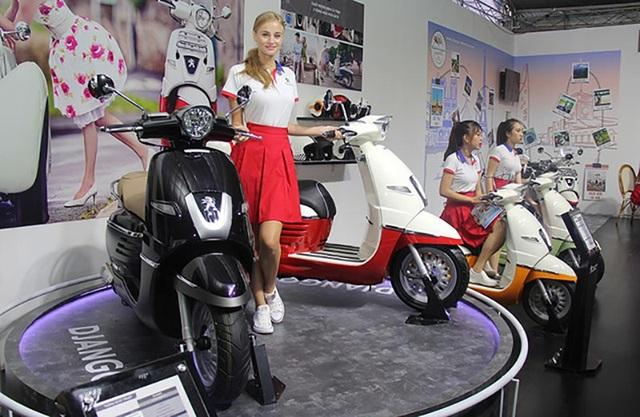 Các mẫu xe máy Peugeot quay lại Việt Nam với mẫu Django lắp ráp trong nước