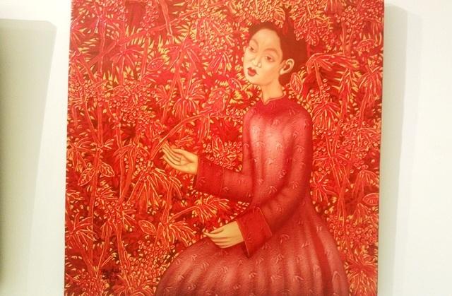Tác phẩm Thiếu nữ của tác giả Phạm Hoàng Anh