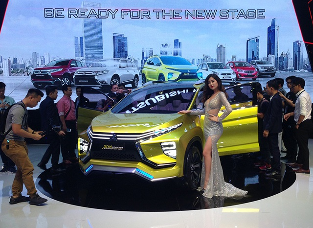 Mitsubishi, Suzuki, Isuzu không có nhiều các mẫu xe mới thực sự phù hợp với thị trường Việt Nam trong triển lần này.