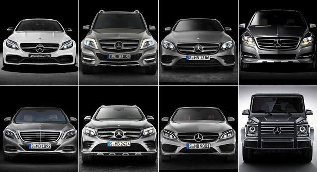 Mercedes-Benz triệu hồi cùng lúc 8 mẫu xe - 1