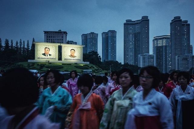 Những người phụ nữ Triều Tiên tại Bình Nhưỡng (Ảnh: ABC)