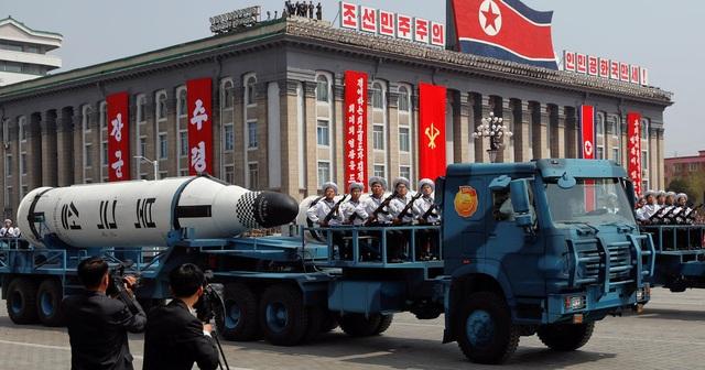 Tham vọng hạt nhân của Triều Tiên dự kiến sẽ là một vấn đề được chú ý chương trình nghị sự của Tổng thống Trump trong chuyến công du châu Á (Ảnh: Reuters)