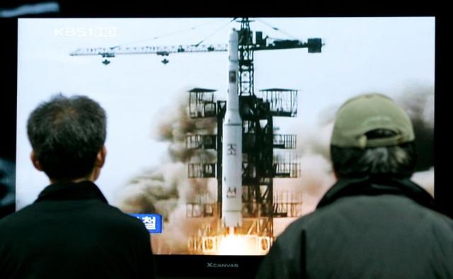 Một vụ phóng tên lửa của Triều Tiên (Ảnh minh họa: Getty)