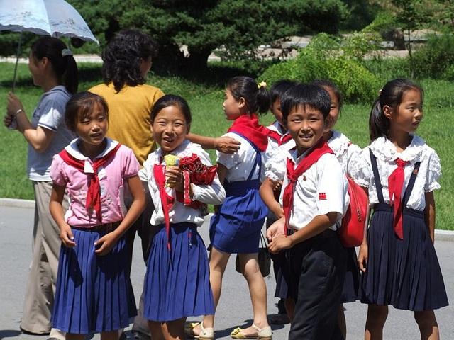 Trẻ em Triều Tiên. (Ảnh minh họa: Wikimedia)