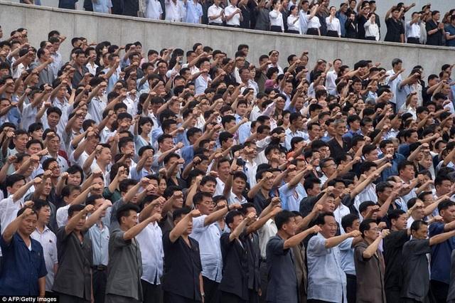 Về mặt kỹ thuật, bán đảo Triều Tiên hiện vẫn ở trong tình trạng chiến tranh do cuộc chiến tranh liên Triều kết thúc bằng sự đình chiến, chứ không phải thỏa thuận hòa bình. (Ảnh: AFP)