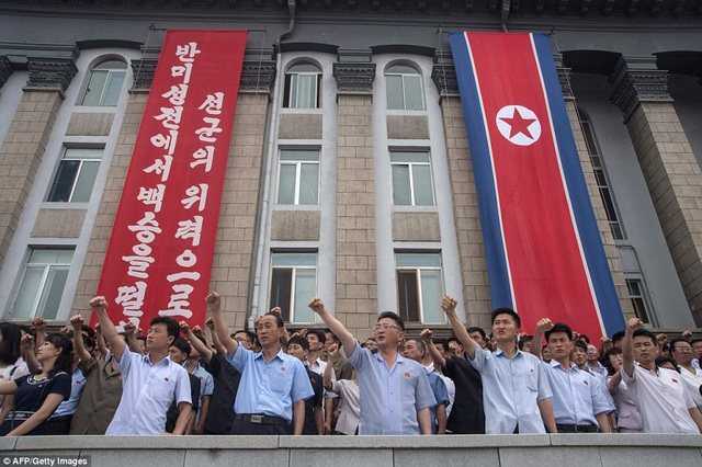 Triều Tiên thời gian qua liên tiếp tiến hành các vụ thử tên lửa với tần suất nhiều chưa từng có, bất chấp mọi sức ép và lệnh trừng phạt từ cộng đồng quốc tế. (Ảnh: AFP)