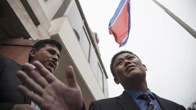 Đại sứ quán Triều Tiên tại thủ đô Lima, Peru (Ảnh: AP)