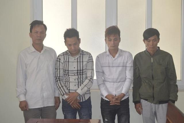 Bốn đối tượng gây ra hàng loạt vụ trộm và tiêu thụ chó trú tại huyện Cẩm Xuyên vừa bị khởi tố