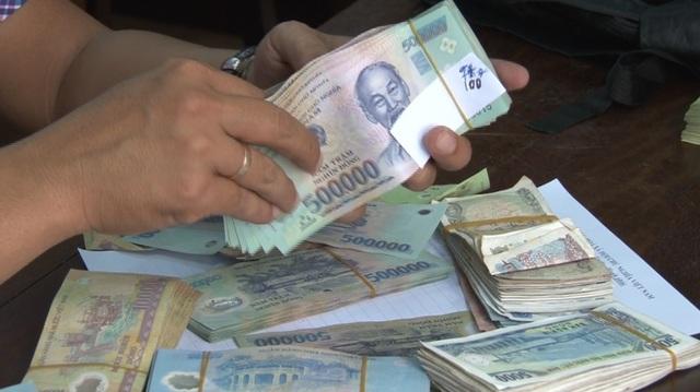 Nghi phạm Trung đã thành khẩn khai báo hành vi trộm cắp tài sản 118 triệu đồng ở chùa của mình (ảnh: Công Quang)