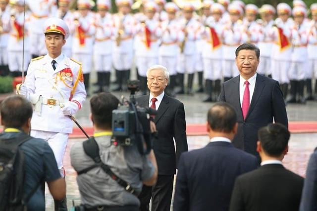 Bắn 21 loạt đại bác chào mừng Chủ tịch Trung Quốc tới Việt Nam - 4