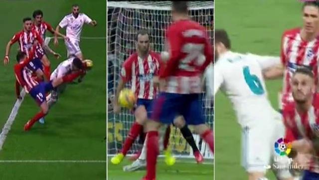 Đáng ra, Real Madrid đã có kết quả tốt hơn trước Atletico Madrid nếu trọng tài bắt đúng