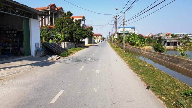 Tuyến đường giao thông trục xã Yên Dương dài 4,7km
