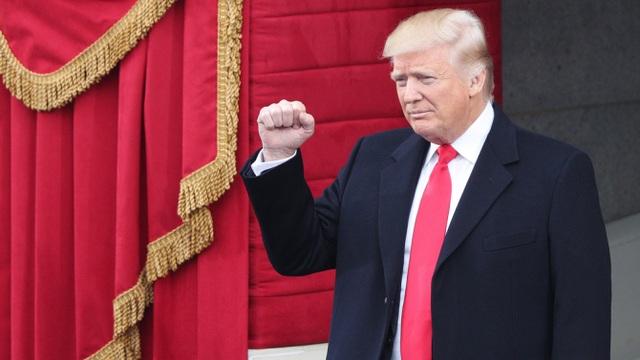 Tỷ phú Donald Trump trong lễ nhậm chức ngày 20/1 (Ảnh: Reuters)