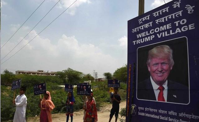 Ngôi làng mang tên Trump ở Ấn Độ - 1
