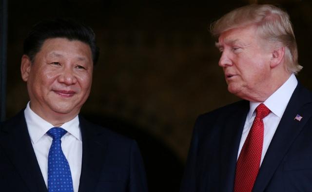 Chủ tịch Trung Quốc Tập Cận Bình (trái) và Tổng thống Mỹ Donald Trump (Ảnh: Reuters)