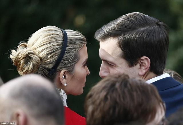 Chồng của đệ nhất ái nữ Ivanka Trump, ông Jared Kushner, cũng xuất hiện tại sự kiện này. (Ảnh: Reuters)