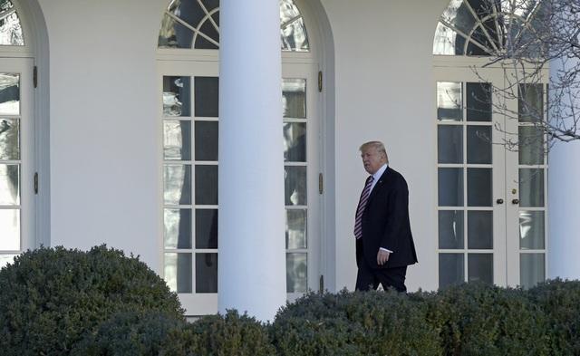 Tổng thống Mỹ Donald Trump tại Nhà Trắng. (Ảnh: AFP)