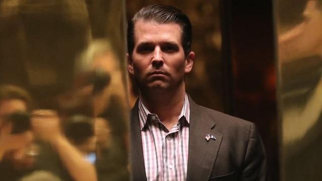 Con trai Tổng thống Mỹ Donald Trump Jr. (Ảnh: Getty)