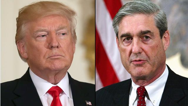Tổng thống Donald Trump (trái) và công tố viên đặc biệt Robert Mueller (Ảnh: Getty)