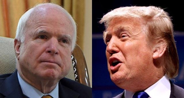 Thượng nghị sĩ đảng Cộng hòa John McCain đã bỏ phiếu phản đối thông qua dự luật Obamacare (Ảnh: AFP/Gage)
