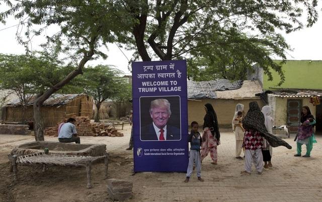 Ngôi làng mang tên Trump ở Ấn Độ - 3
