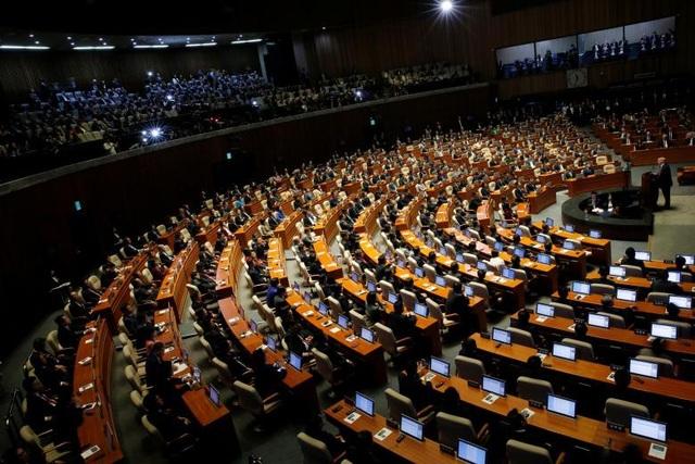 Nhà lãnh đạo Mỹ phát biểu trước Quốc hội Hàn Quốc.