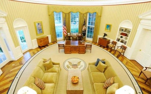 Phòng Bầu dục tại Nhà Trắng (Ảnh: Reuters)