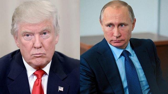 Tổng thống đắc cử Donald Trump và Tổng thống Nga Vladimir Putin (Ảnh: News)