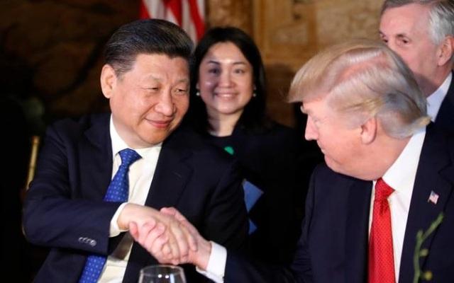 Theo Telegraph, trong bữa tiệc, ông Trump nói rằng, ông đã có một mối quan hệ bằng hữu với ông Tập. Dự kiến chuyến thăm của ông Tập tới Mỹ sẽ kéo dài đến trưa 7/4 theo giờ địa phương.(Ảnh: Reuters)