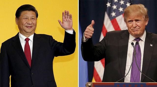 Tổng thống Mỹ Donald Trump (phải) và Chủ tịch Trung Quốc Tập Cận Bình (Ảnh: RT)