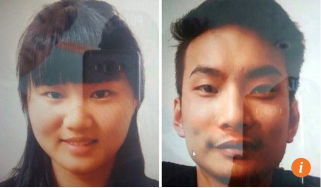 Hai nhà truyền giáo Trung Quốc Meng Li Si (trái) và Lee Zing Yang (Ảnh: EPA)