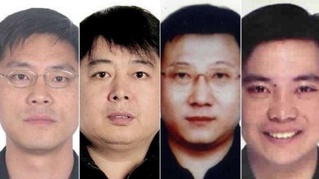 4 nghi phạm tham nhũng Trung Quốc được cho là đang lẩn trốn ở Canada (Ảnh: SCMP)