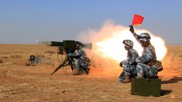 Binh lính Trung Quốc tập trận tại Djibouti (Ảnh: RT)