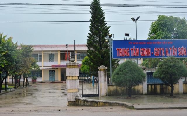 Trung tâm Giáo dục nghề nghiệp - Giáo dục thường xuyên huyện Tây Sơn