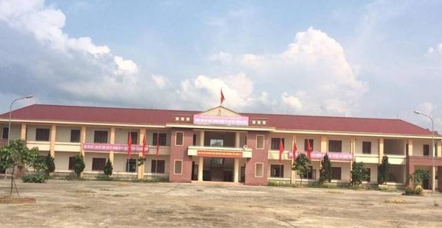 Một góc Trung tâm dạy nghề, hướng nghiệp và giáo dục thường xuyên huyện Hương Khê