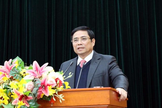 Trưởng Ban Tổ chức Trung ương Phạm Minh Chính: Kiểm soát quyền lực, cách tốt nhất chính là công khai minh bạch.