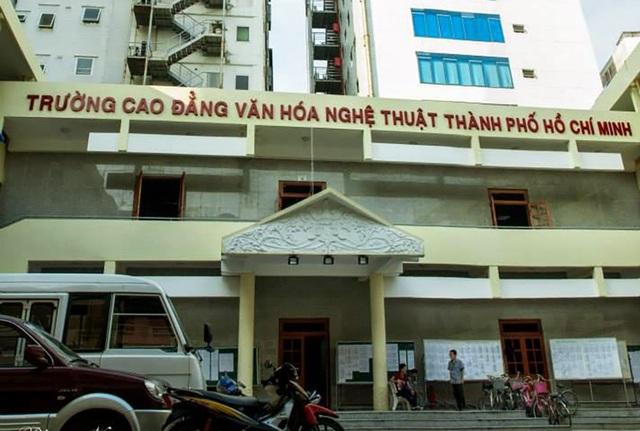 Trường CĐ Văn hoá Nghệ thuật TPHCM (ảnh internet)