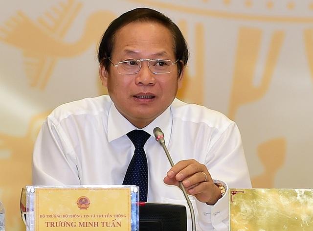 Bộ trưởng TT-TT: Cần chuẩn bị để đảm bảo chúng ta bước vào cuộc cách mạng công nghiệp 4.0 này không bị bỏ lỡ con tàu.