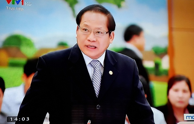 Bộ trưởng Trương Minh Tuấn lần đầu đăng đàn trả lời chất vấn của các đại biểu Quốc hội
