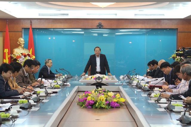 Bộ trưởng Bộ Thông tin & Truyền thông Trương Minh Tuấn (ảnh: Bộ TT&TT)